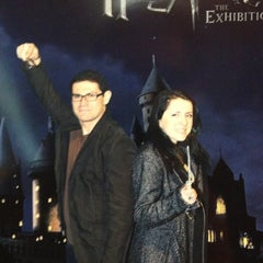 Photo taken at Harry Potter: The Exhibition by Steve D. on 3/31/2013