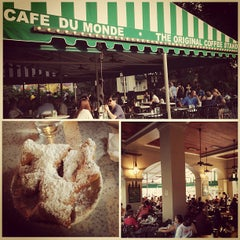 Photo taken at Café du Monde by My American Road on 7/27/2013