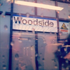 Photo taken at LIRR - Woodside Station by Jude T. on 2/11/2012