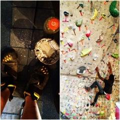Photo taken at Red Rock Climbing Center by David R. on 4/14/2012