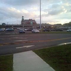 Photo taken at Megabus stop by Tim Hobart M. on 8/10/2012