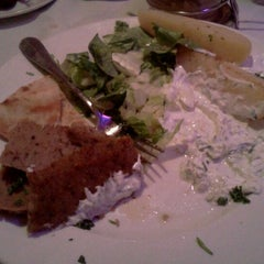 Photo taken at Aegean Mediterranean Grille by Danae M. on 12/16/2011
