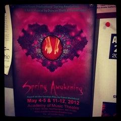 Photo taken at Bezanson Recital Hall by Sean B. on 4/16/2012