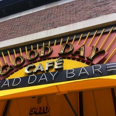 Photo taken at Good Day Café Bad Day Bar by Rance C. on 4/9/2012