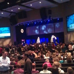 Photo taken at Church of the Highlands by Lisa O. on 12/8/2011