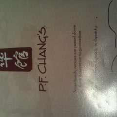 Photo taken at P.F. Chang's by Miss J. on 6/7/2011