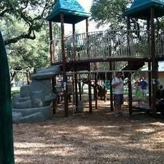 Photo taken at Springwoods Park by Pao on 8/19/2012
