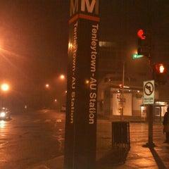 Photo taken at Tenleytown-AU Metro Station by John F. on 9/7/2011