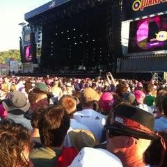 Photo taken at Pinkpop by Gerard G. on 5/28/2012