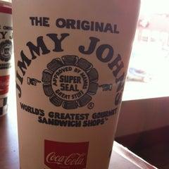 Photo taken at Jimmy John's by Shelbi B. on 3/23/2012