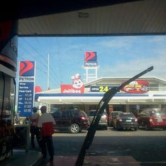 Photo taken at Petron Service Station by Tj A. on 2/25/2012