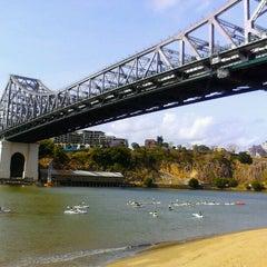 Photo taken at Story Bridge by Rach P. on 10/21/2011