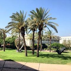 Photo taken at Tel Aviv University   אוניברסיטת תל-אביב by Shelby Z. on 8/19/2012
