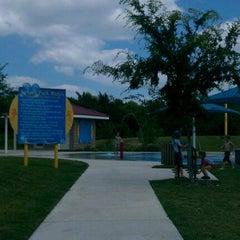 Photo taken at Falcon Pointe Splash Park by Vi N. on 5/19/2012