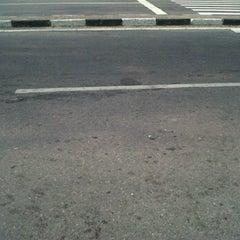 Photo taken at Jl. Jenderal Sudirman by Dian D. on 9/28/2011
