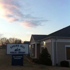 Photo taken at Spring Hill Public Library by Chanin C. on 1/4/2011