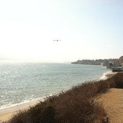 Photo taken at Malibu Public Beach by Clara T. on 9/20/2011