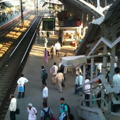 Photo taken at Bandra Railway Station by Rohit B. on 2/11/2012