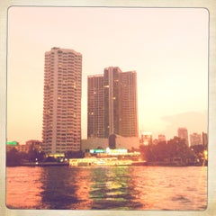 Photo taken at ท่าเรือสาทร (ตากสิน) Sathorn (Taksin) Pier CEN by Andrea C. on 4/27/2012