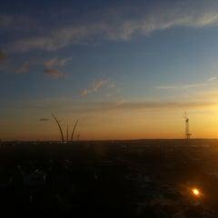 Photo taken at Sheraton Pentagon City Hotel by Julian A. on 2/12/2012