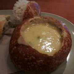 Photo taken at Panera Bread by Jamie G. on 3/2/2012