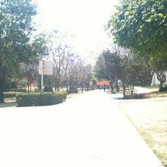 Photo taken at Departamento de Letras, Humanidades e Historia del Arte by Raul C. on 4/30/2012