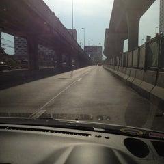Photo taken at แยกแคราย (Khae Rai Intersection) by SURARAT P. on 4/13/2012