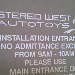 Photo taken at Stereo West Autotoys by Terry S. on 2/21/2012