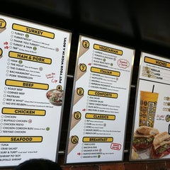 Photo taken at Which Wich? Superior Sandwiches by Stephen G. on 8/13/2012