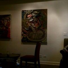 Photo taken at Three Peas Art Lounge by Erin on 6/11/2011