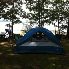 Photo taken at Searsport Shores Ocean Campground by Kelly S. on 8/8/2011