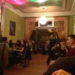 Photo taken at Minato Japanese Restaurant by Katie H. on 10/19/2011