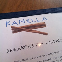 Photo taken at Kanella: Greek Cypriot Kitchen by betsy von awesome on 2/26/2012