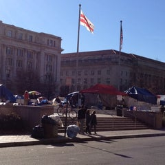 Photo taken at Occupy K St. by Timothy on 5/14/2012