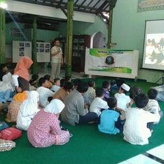 Photo taken at Masjid An-Nur Puspogiwang by Erwinda R. on 8/4/2012