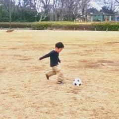Photo taken at 小金井公園健康広場 by Tosh T. on 3/4/2012
