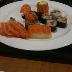 Photo taken at Kiai Sushi by Lenita B. on 4/5/2012