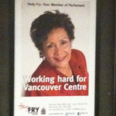 Photo taken at Yaletown - Roundhouse SkyTrain Station by Geoff T. on 3/22/2012