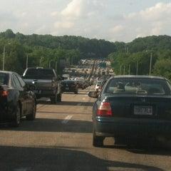 Photo taken at American Legion Memorial Bridge by Kelvin B. on 5/22/2012