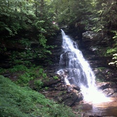 Photo taken at Ricketts Glen State Park by Lauren Q. on 6/19/2012