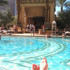 Photo taken at Palazzo Pool by Danielle C. on 9/12/2012