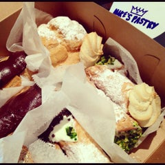 Photo taken at Mike's Pastry by Eddie H. on 9/3/2012