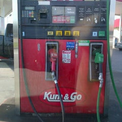 Photo taken at Kum & Go by Lee S. on 7/10/2012