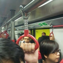 Photo taken at MTR Wan Chai Station 灣仔站 by Po-chiang C. on 3/5/2012