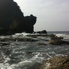 Photo taken at 今子浦 by Kitaguchi T. on 4/2/2012