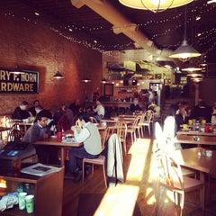 Photo taken at Grumpy's Restaurant by UPSO on 3/9/2012