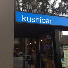 Photo taken at Kushibar by Dae K. on 7/3/2012
