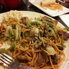 Photo taken at Umami Mongolian Grill by Gloria G. on 2/27/2012