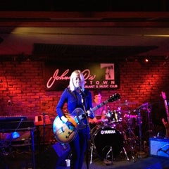 Photo taken at Johnny D's Uptown Restaurant & Music Club by Penny C. on 5/24/2012