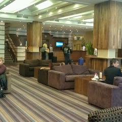 Photo taken at DoubleTree by Hilton Dublin - Burlington Road by Max S. on 9/8/2012